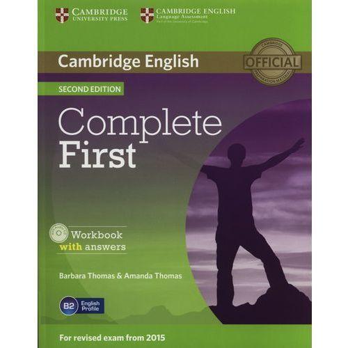 Complete First 2nd Edition. Ćwiczenia z Kluczem + CD (9781107663398)