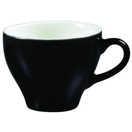 Ariane Filiżanka do cappuccino 0,2 l, czarno-biała | , amico cafe