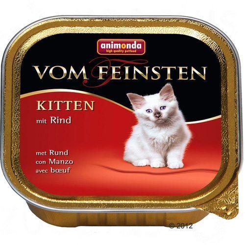 ANIMONDA Vom Feinsten Kitten: wołowina 100g