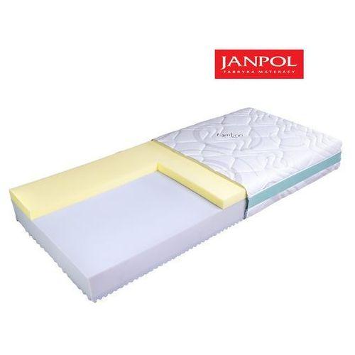Janpol plantpur dream - materac piankowy, rozmiar - 200x200, pokrowiec - jersey standard wyprzedaż, wysyłka gratis marki Materace janpol