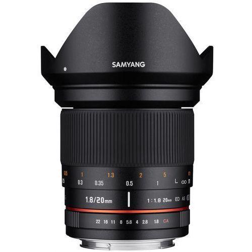 Samyang 20 mm f/1.8 / Nikon F - produkt z kategorii- Obiektywy fotograficzne