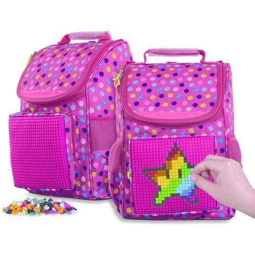 Pixie crew plecak dziewczęcy z pikselami