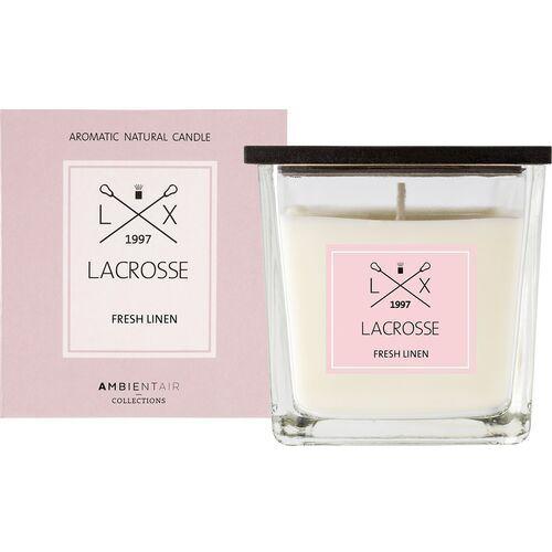 Świeca zapachowa fresh linen 8x8 lacrosse - fresh linen (8435474414893)