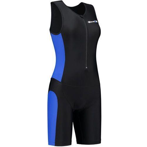 Dare2tri frontzip trisuit kobiety niebieski/czarny l 2018 pianki do pływania