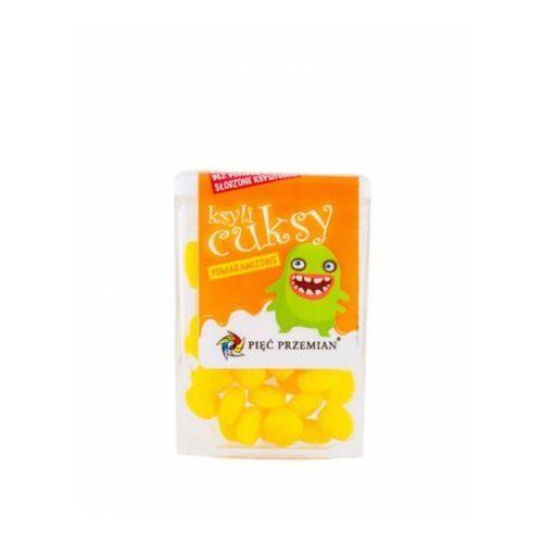 Przecena cuksy cukierki z ksylitolem pomarańczowe 13g marki Pięć przemian