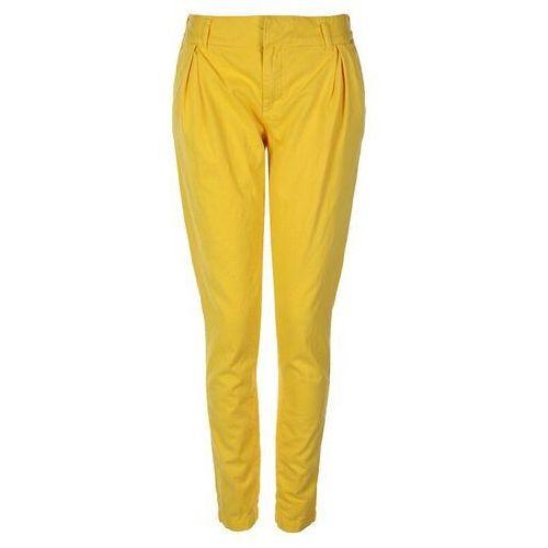 spodnie BENCH - Straighten Up Yellow (YW054), proste