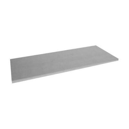 Półka, ocynkowana, z listwami wieszakowymi, szer. x głęb. 1000x600 mm. Dodatkowa