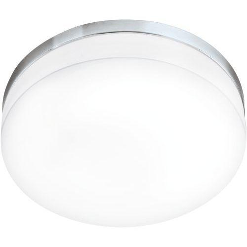 Plafon lampa sufitowa lora 95002 szklana oprawa ścienna led 24w okrągły kinkiet ip54 biały marki Eglo