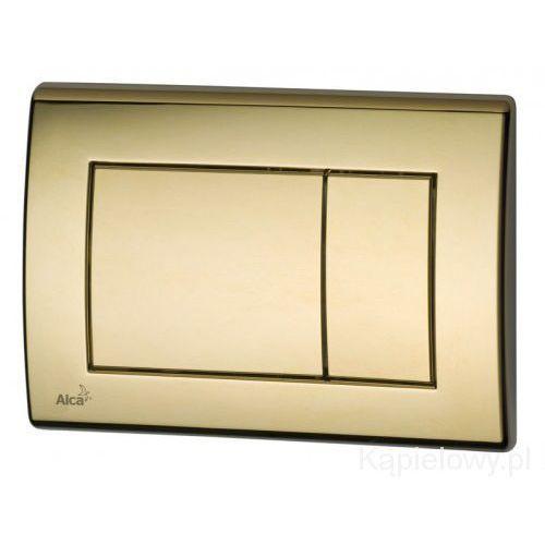 Przycisk spłuczki podtynkowej, złoty M275