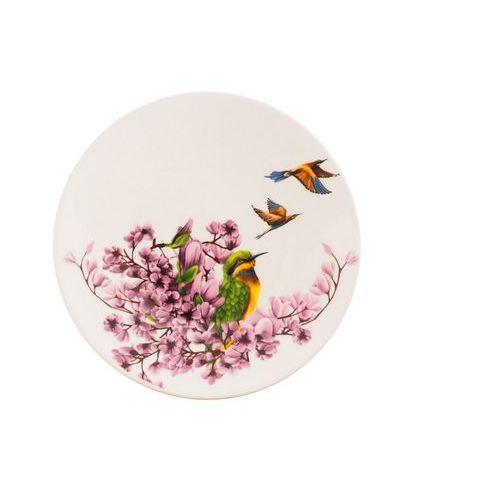 Mieroszów 6 ceramicznych talerz deserowy magnolia