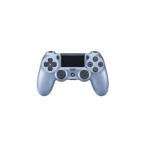Sony interactive entertainment Kontroler bezprzewodowy sony playstation dualshock 4 v2 niebieski tytanowy (0711719949305)