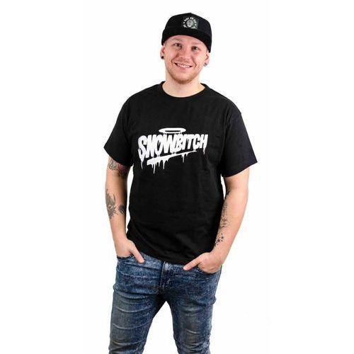 koszulka SNOWBITCH - Tag Holy Black (BLACK) rozmiar: XXL, kolor czarny