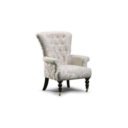 Estelia Fotel tapicerowany vienna high, tkanina, skóra naturalna