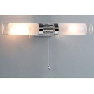 Kinkiet lampa ścienna hook mb030101-2c łazienkowa oprawa galeryjka nad lustro chrom biała marki Italux