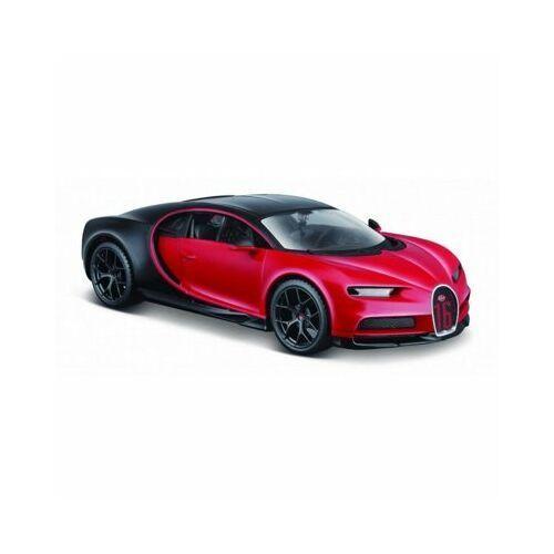 Maisto Model kompozytowy bugatti chiron sport czarno-czerwony