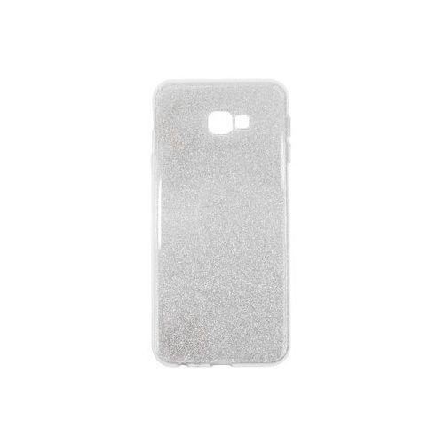Samsung galaxy j4 plus - etui na telefon forcell shining - srebrny marki Forcell shining case