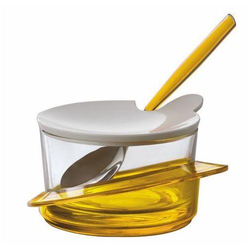 Cukiernica   pojemnik na parmezan bugatti glamour żółta marki Casa bugatti