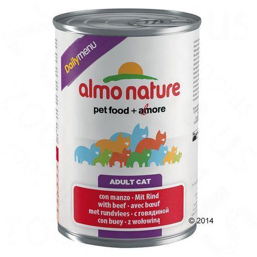 Almo nature  daily menu cielęcina - puszka 12x400g (8001154125078)