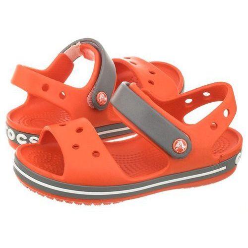 Sandałki Crocs Crocband Sandal Kids Tangerine 12856-818 (CR39-g)