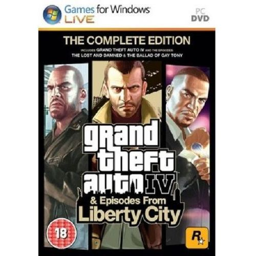 Rockstar games Gta iv 4 +liberty city complete edition pl pc