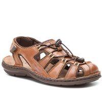 Sandały LASOCKI FOR MEN - MI07-A426-A282-27 Brown, w 6 rozmiarach