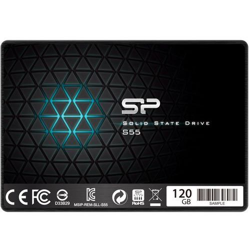 Silicon Power SSD SLIM S55 120GB 2,5 SATA3 520/370MB/s 7mm