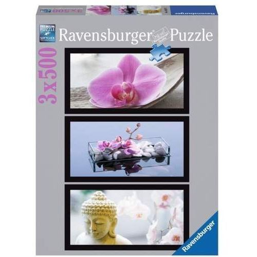 RAVEN. 3x500 EL. Tryptyk Orchidea - Ravensburger DARMOWA DOSTAWA KIOSK RUCHU