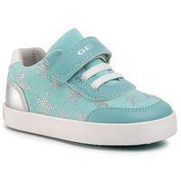 Sneakersy GEOX - B Gisli G. A B021MA 05410 C4080 M Aqua/Lt Grey, kolor niebieski