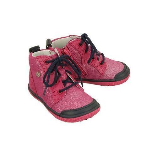 w-81844 da1 różowy, trzewiki zdrowotne dziecięce, rozmiary: 19-26 - różowy marki Bartek