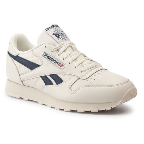 Buty - cl leather mu dv9695 chalk/paperwht/coll navy, Reebok, 40-47