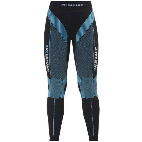 X-bionic effektor power spodnie do biegania kobiety czarny/turkusowy m 2018 legginsy do biegania