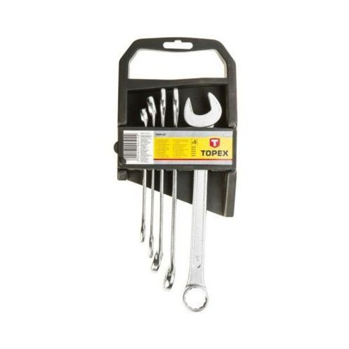 Topex Zestaw kluczy płasko-oczkowych 35d372 10 - 19 mm (5 elementów)