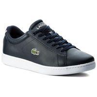 Lacoste Sneakersy - carnaby evo bl 1 spm 7-33spm1002003 nvy