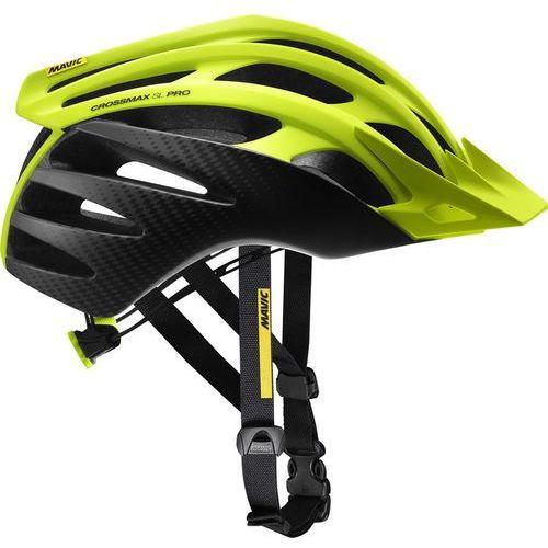 Mavic crossmax sl pro kask rowerowy mężczyźni żółty/czarny l | 57-61cm 2018 kaski mtb (0889645541860)