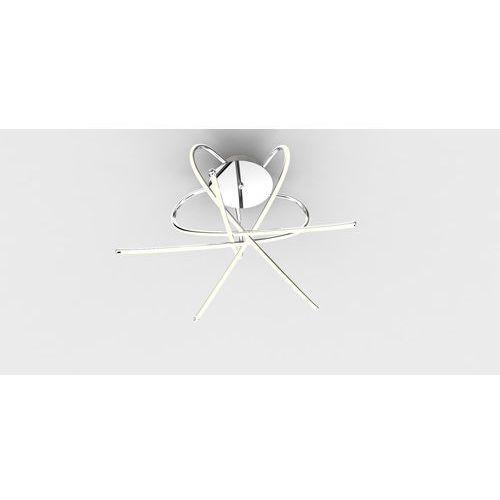 plafon/lampa sufitowa led carrello chrom pl1100014-5 marki Zumaline