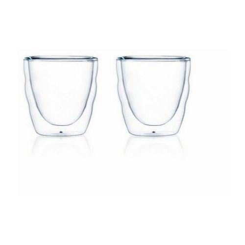 - zestaw 2 szklanek 0,08 l., pilatus marki Bodum