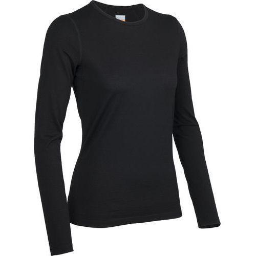 koszulka termiczna z długim rękawem women's oasis ls crewe black l marki Icebreaker