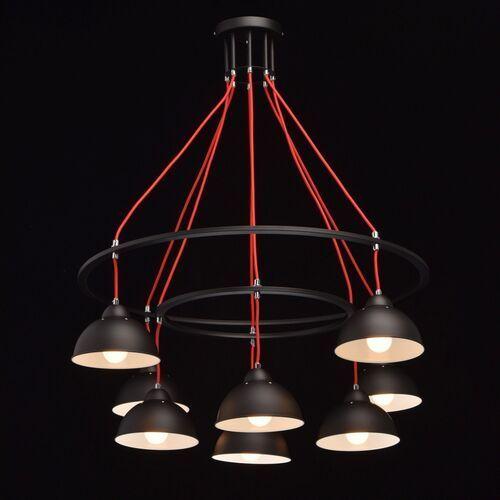 Nowoczesne oświetlenie do dużego pomieszczenia MW-LIGHT Loft 8 żarówek (4250369167920)