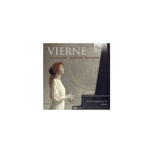 12 preludes / solitude / nocturne (płyta cd) marki Brilliant classics