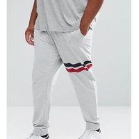 Only & Sons PLUS Joggers With Stripe Detail - Grey, w 2 rozmiarach