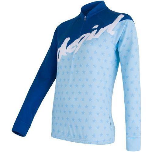 Sensor koszulka rowerowa dres stars blue s
