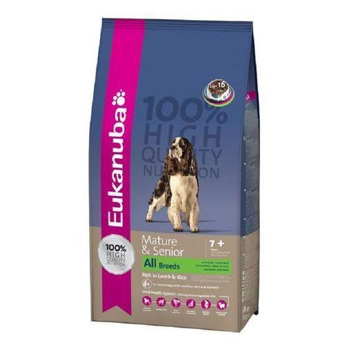 EUKANUBA Mature & Senior 7+ All Breeds Lamb & Rice Maintenance 2,5kg (5000174620290)
