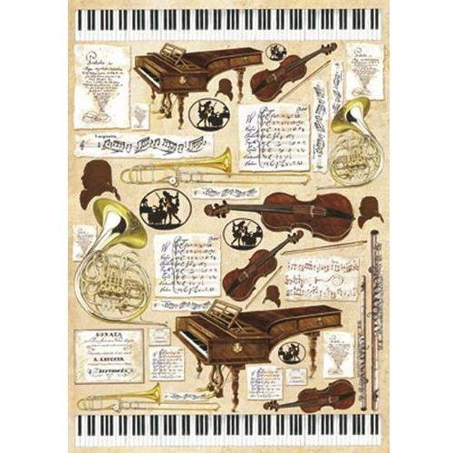 Papier klasyczny do decoupage 50x70 cm - 288 marki Stamperia