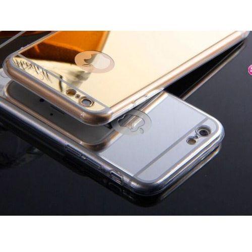 Slim Mirror Case Srebrny | Etui dla Apple iPhone 6 / 6S - Srebrny, kolor szary