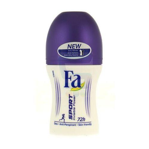 Fa Sport Invisible Power Dezodorant w kulce 50ml - Schwarzkopf