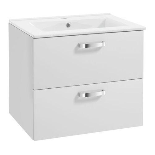 Szafka podumywalkowa Deftrans Bel z umywalką 50 cm biała, 242-D-05002+1730