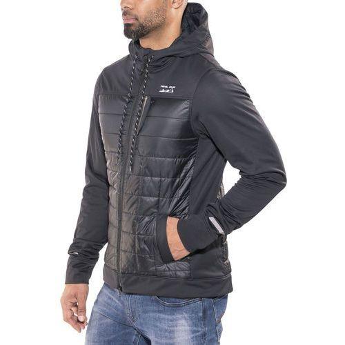 Pearl izumi versa quilted bluza mężczyźni czarny xxl 2018 bluzy z kapturem