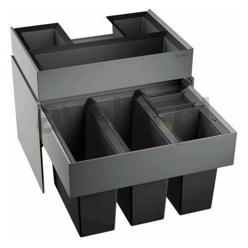 Sortownik odpadów, kosz na śmieci, poczwórny BLANCO SELECT 60/4 Orga (520783) (4020684627382)