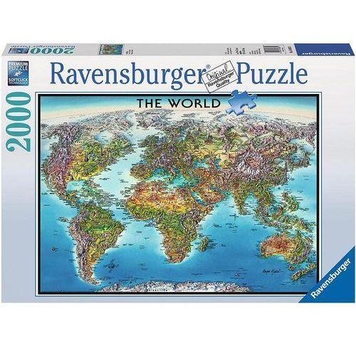 RAVEN. 2000 EL. Mapa Świata, PR-166831 (1449268)
