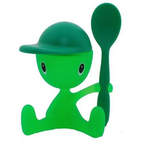 Jajecznik z łyżeczką ALESSI ASG23 GR Cico Zielony (8003299923625)